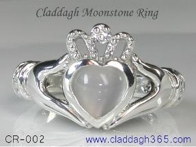 cladagh moonstone ring